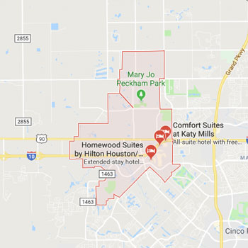 Map Of Texas Katy.Katy Texas Air Conditioning Majestic Air Conditoning